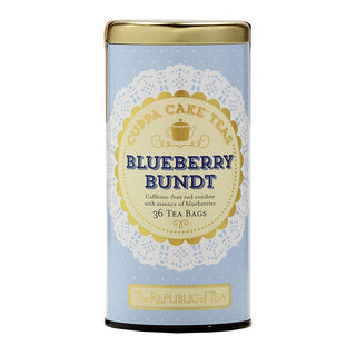 The Republic of Tea Gourmet Teas The Republic of Tea Blueberry Bundt Cuppa Cake Tea Bags 36 Ct. JL-Hufford