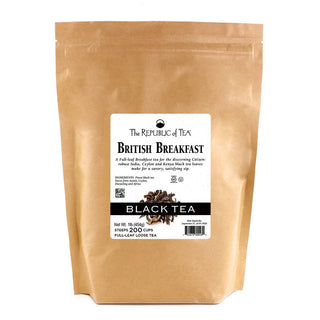 The Republic of Tea Gourmet Teas The Republic of Tea British Breakfast Full Leaf 1 lb JL-Hufford