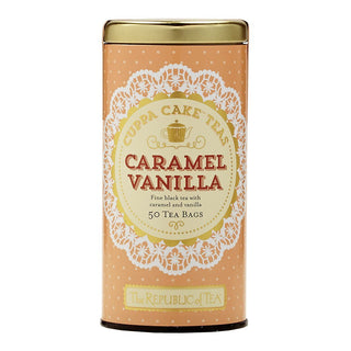 The Republic of Tea Gourmet Teas The Republic of Tea Caramel Vanilla Cuppa Cake Tea Bags 50 Ct. JL-Hufford
