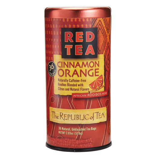 The Republic of Tea Gourmet Teas The Republic of Tea Cinnamon Orange Red Bags JL-Hufford