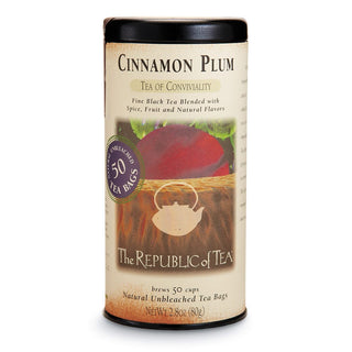 The Republic of Tea Gourmet Teas The Republic of Tea Cinnamon Plum Bags JL-Hufford