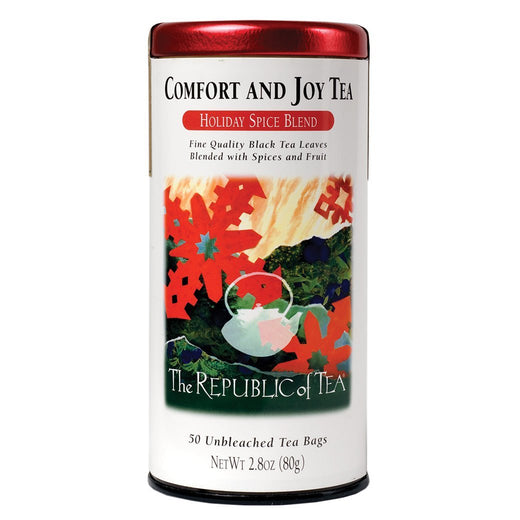 The Republic of Tea Gourmet Teas The Republic of Tea Comfort and Joy Black Tea Bags 50 Ct. JL-Hufford