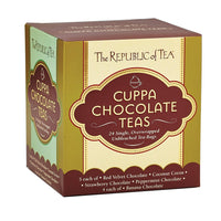 The Republic of Tea Gourmet Teas The Republic of Tea Cuppa Chocolate Tea Assortment JL-Hufford