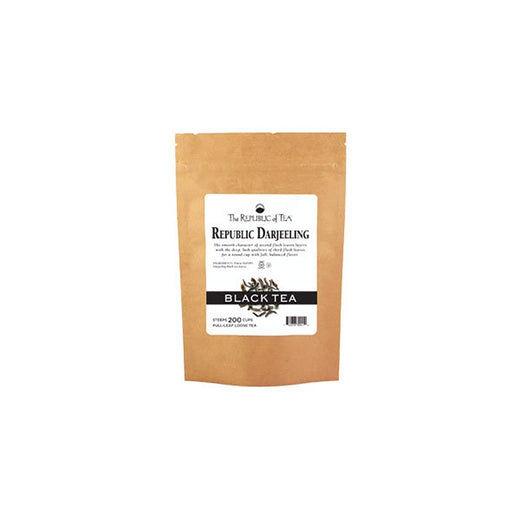 The Republic of Tea Gourmet Teas The Republic of Tea Darjeeling Black Full-Leaf Loose Bulk 1lb JL-Hufford
