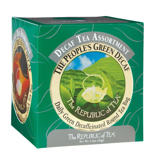 The Republic of Tea Gourmet Teas The Republic of Tea Decaf Tea Assortment JL-Hufford