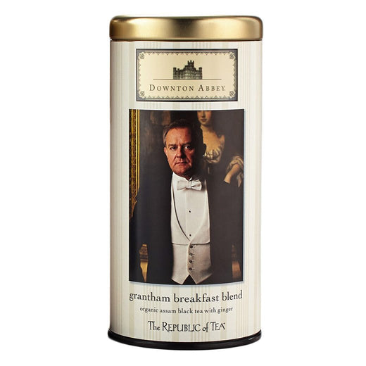 The Republic of Tea Gourmet Teas The Republic of Tea Downton Abbey Grantham Breakfast Blend Tea Bags JL-Hufford