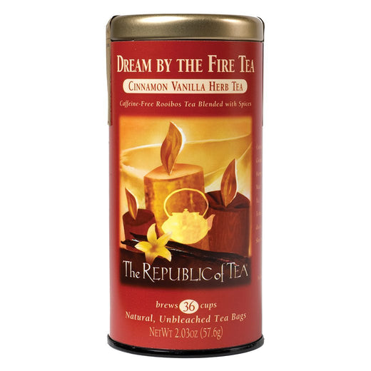 The Republic of Tea Gourmet Teas The Republic of Tea Dream by the Fire Red Tea Bags 36 Ct. JL-Hufford