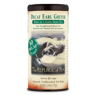 The Republic of Tea Gourmet Teas The Republic of Tea Earl Greyer Decaf Bags 50 Ct. JL-Hufford