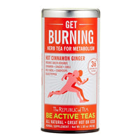 The Republic of Tea Gourmet Teas The Republic of Tea Get Burning - Herb Tea for Metabolism 36 Ct. JL-Hufford