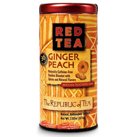 The Republic of Tea Gourmet Teas The Republic of Tea Ginger Peach Red Bags JL-Hufford