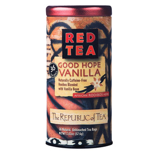 The Republic of Tea Gourmet Teas The Republic of Tea Good Hope Vanilla Red Bags JL-Hufford