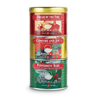 The Republic of Tea Gourmet Teas The Republic of Tea Holiday Stackable Tea Tin 36 Ct. JL-Hufford