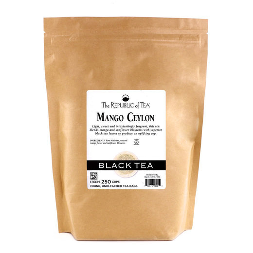 The Republic of Tea Gourmet Teas The Republic of Tea Mango Ceylon Bags 250 Ct. JL-Hufford