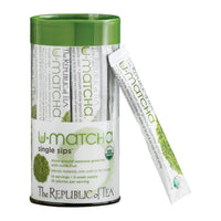 The Republic of Tea Gourmet Teas The Republic of Tea Organic U-Matcha Single Sips 14 Ct. JL-Hufford
