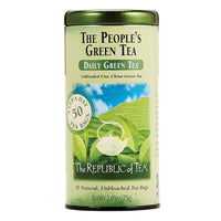 The Republic of Tea Gourmet Teas The Republic of Tea People's Green Bags JL-Hufford