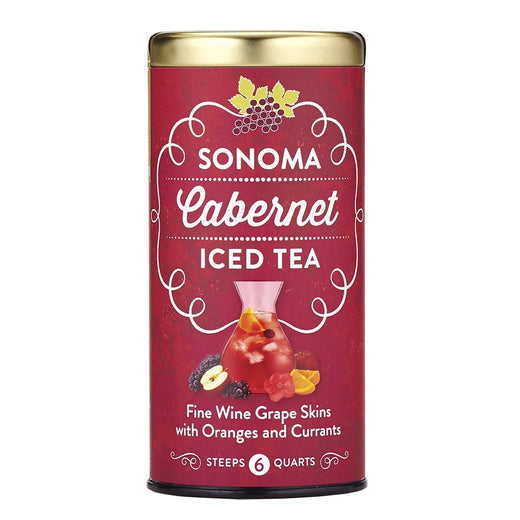 The Republic of Tea Gourmet Teas The Republic of Tea Sonoma Cabernet Iced Tea 6 Pouches JL-Hufford
