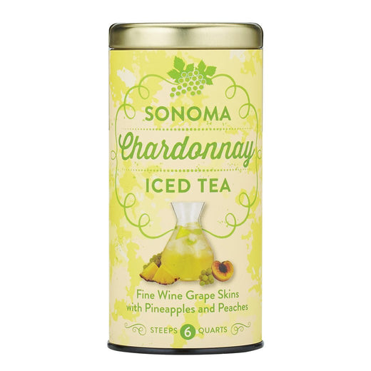 The Republic of Tea Gourmet Teas The Republic of Tea Sonoma Chardonnay Iced Tea 6 Pouches JL-Hufford