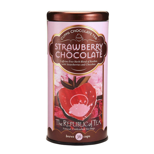 The Republic of Tea Gourmet Teas The Republic of Tea - Strawberry Chocolate Tea Bags, 36 Ct. JL-Hufford