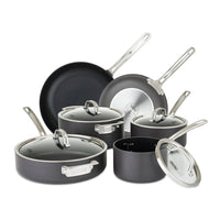 Viking Cookware Sets Viking Hard Anodized Nonstick 10-piece Cookware Set JL-Hufford