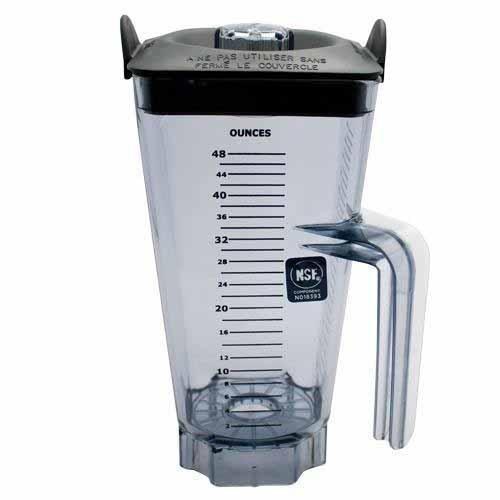 Vitamix Commercial Blender Parts and Accessories Vitamix Commercial 48-ounce NSF Replacement Container and Lid JL-Hufford