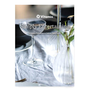 Vitamix Household Cookbooks Simply Entertaining Vitamix Cookbook JL-Hufford
