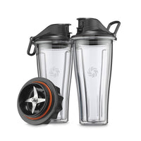 Vitamix Household Blender Parts and Accessories Vitamix Ascent Blending Cups Starter Kit JL-Hufford