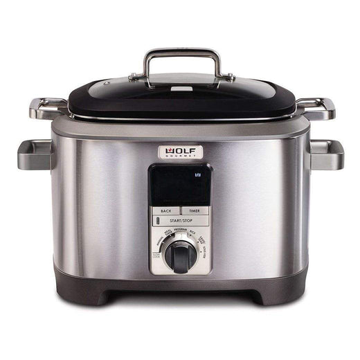 Wolf Gourmet Slow Cookers & Multi-Cookers Black Knob Wolf Gourmet 7 Qt. Multi-Function Cooker JL-Hufford