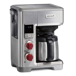 Wolf+Gourmet+Drip+Coffee+Makers+Red+Knob+Wolf+Gourmet+10-Cup+Programmable+Drip+Coffeemaker+JL-Hufford