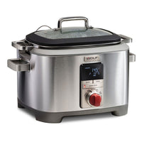 Wolf Gourmet Slow Cookers & Multi-Cookers Red Knob Wolf Gourmet 7 Qt. Multi-Function Cooker JL-Hufford