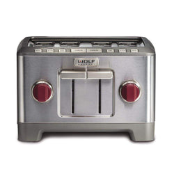 Wolf+Gourmet+Toasters+%26+Ovens+Red+Knobs+Wolf+Gourmet+4-slice+Toaster+JL-Hufford