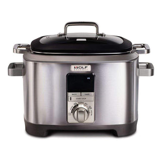 Wolf Gourmet Slow Cookers & Multi-Cookers Stainless Knob Wolf Gourmet 7 Qt. Multi-Function Cooker JL-Hufford