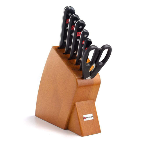 Wusthof Knife Sets Cherry Wusthof Gourmet 7-piece Mobile Knife Block Set JL-Hufford