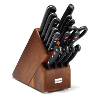 Wusthof Knife Sets Walnut Wusthof Gourmet 16-Piece Block Set JL-Hufford