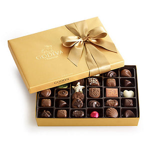 Godiva 36 Assorted Gift Set