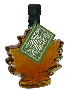 Butternut Mountain Farm Glass Maple Leaf Syrup