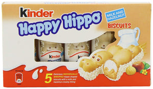 Kinder Happy Hippo Milk and Hazelnut
