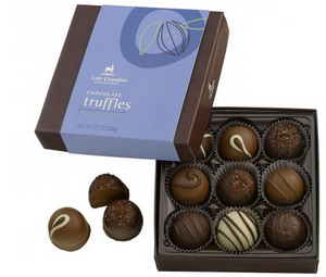 Lake Champlain 9 Piece Truffle Assortment