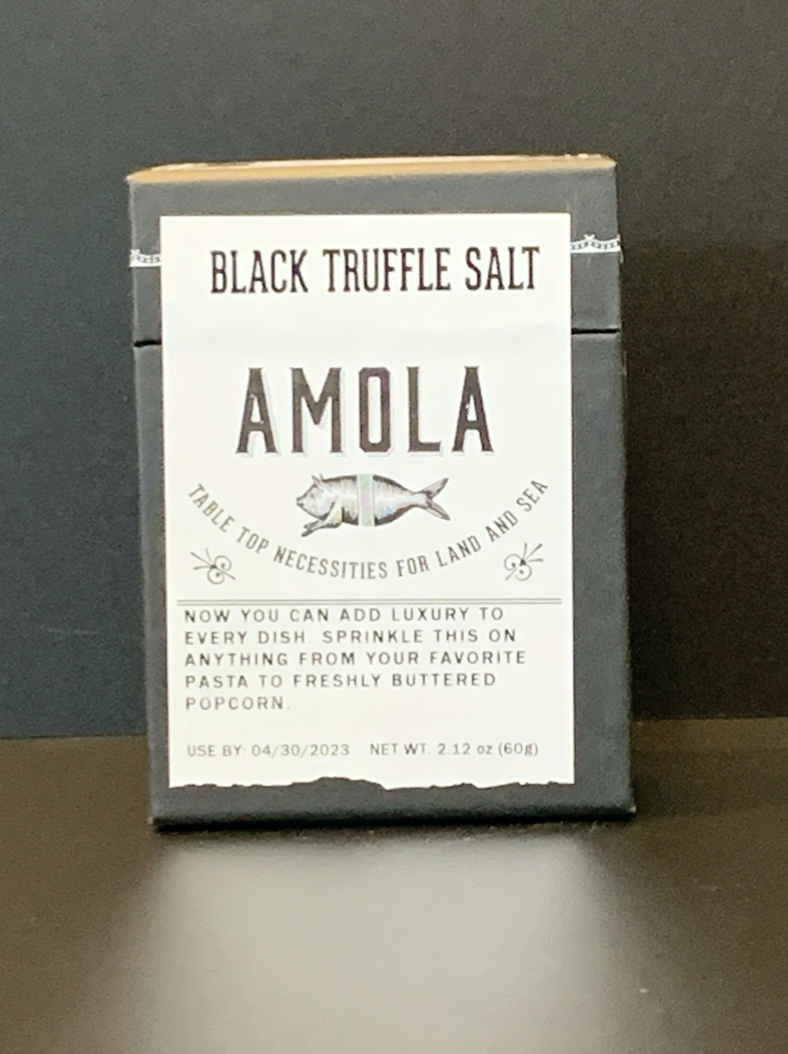 Amola Black Truffle Salt