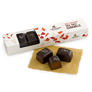 Lake Champlain Dark Chocolate Sea Salt Caramels