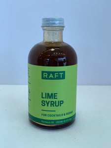Raft Lime Syrup