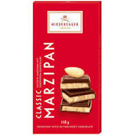 Dark Chocolate filled with Marzipan