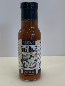 Spicy Shark Sriracha Smoked Maple Hot Sauce