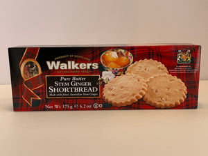 Walkers Shortbread Stem Ginger
