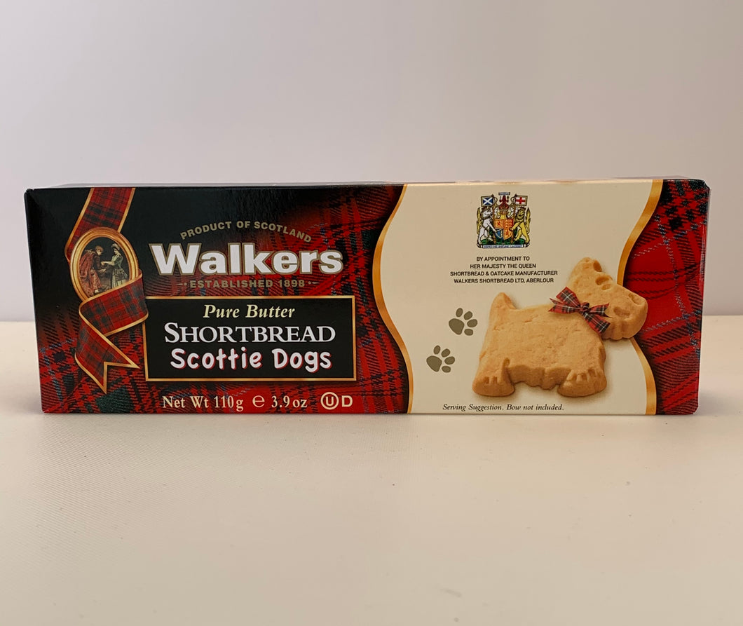 Walker Shortbread Scottie Dogs