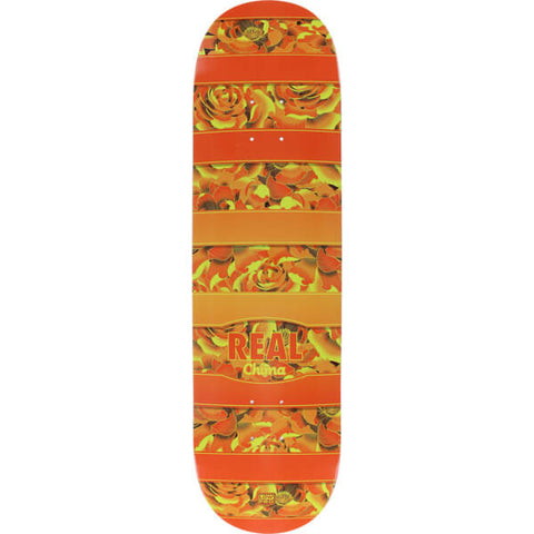 "REAL CHIMA FLOWERY LOW-PRO - 8.25"" SKATEBOARD DECK"