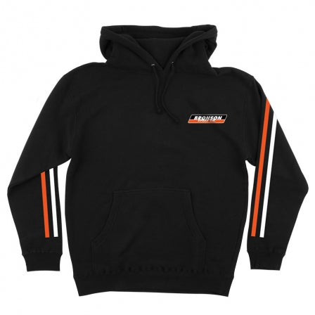 BRONSON SPEED CO RACE STRIPES BLACK HOODIE