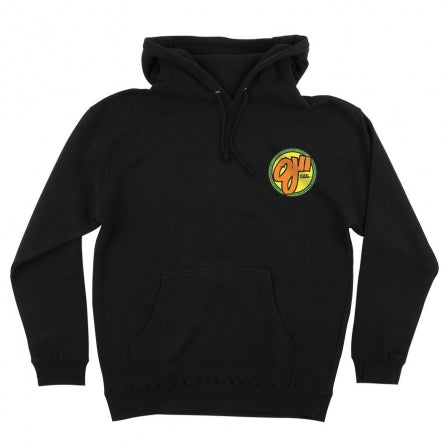 OJ WHEELS ELITE PULLOVER BLACK HOODIE
