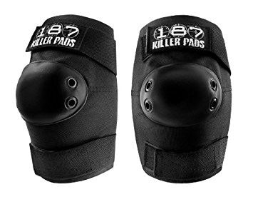 KILLER SLIM ELBOW PADS - BLACK
