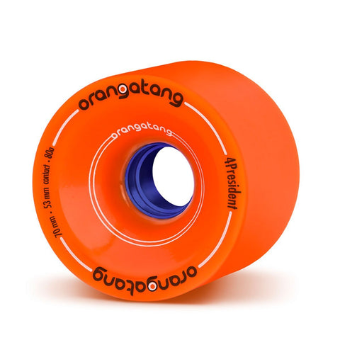ORANGTANG IN-HEATS 75MM 80A LONGBOARD WHEELS
