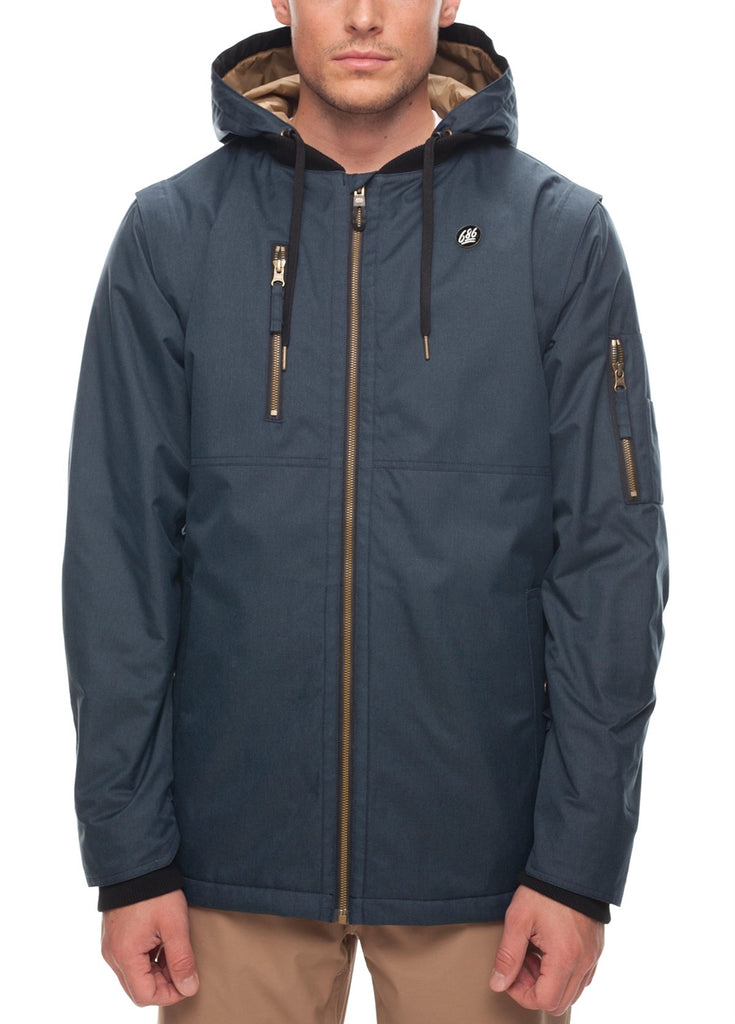 Jacket 686 Insulated Riot Mens Snowboard H9WD2EIY
